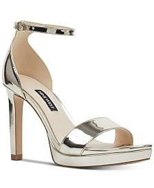 Nine West Edyn Platform Sandals
