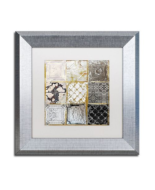 """Trademark Global Color Bakery 'Tintypes' Matted Framed Art - 11"""" x 11"""""""