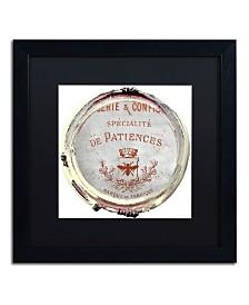 "Color Bakery 'Paris in Frames 2' Matted Framed Art - 16"" x 16"""
