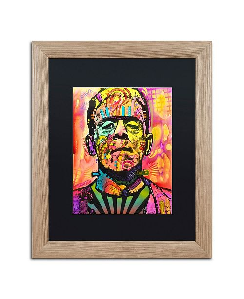 "Trademark Global Dean Russo 'Frankenstein' Matted Framed Art - 16"" x 20"""