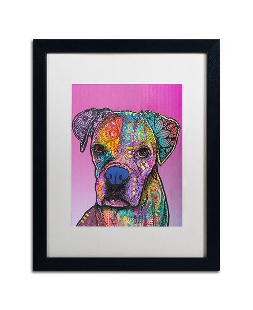 """Trademark Global Dean Russo 'Gertie Custom 1' Matted Framed Art - 16"""" x 20"""""""