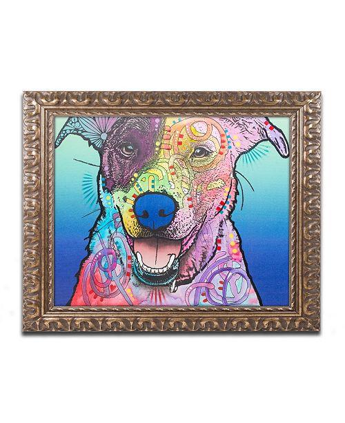"Trademark Global Dean Russo 'Matilda Custom 003' Ornate Framed Art - 11"" x 14"""
