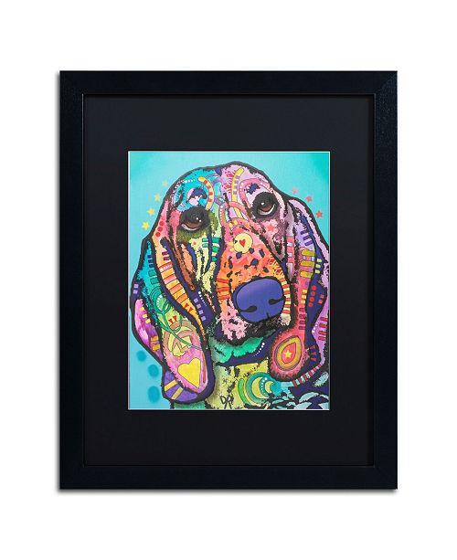 "Trademark Global Dean Russo 'Austin' Matted Framed Art - 16"" x 20"""