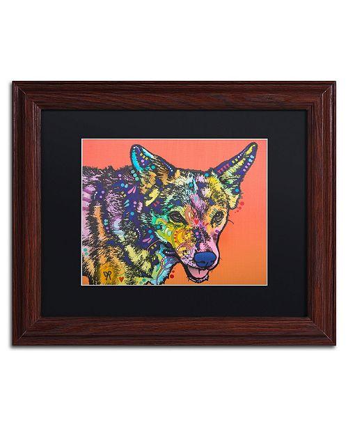 "Trademark Global Dean Russo 'Max' Matted Framed Art - 11"" x 14"""