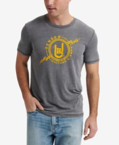 235548207c88 Lucky Brand Men's Fender Electrics Graphic T-Shirt