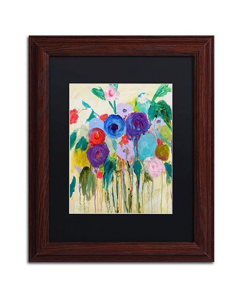 """Trademark Global Carrie Schmitt 'Cest La Vie' Matted Framed Art - 11"""" x 14"""""""