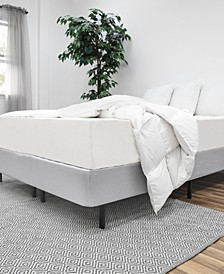 1Base All-in-One Box Spring & Frame, Quick Ship- Queen
