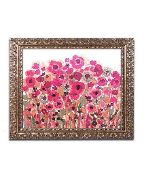 "Trademark Global Natasha Wescoat '003' Ornate Framed Art - 11"" x 14"""
