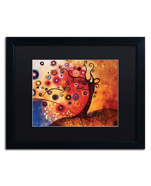 "Trademark Global Natasha Wescoat '013' Matted Framed Art - 16"" x 20"""