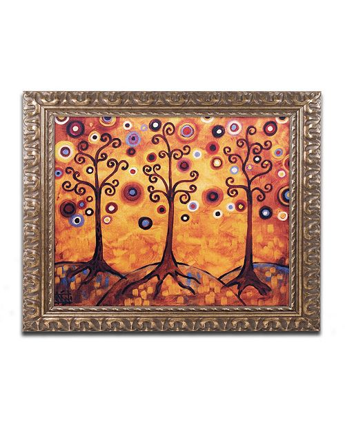 "Trademark Global Natasha Wescoat '018' Ornate Framed Art - 11"" x 14"""