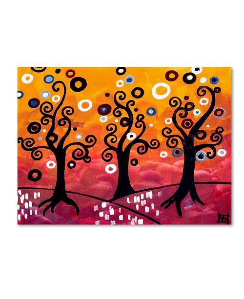 "Trademark Global Natasha Wescoat '077' Canvas Art - 24"" x 32"""