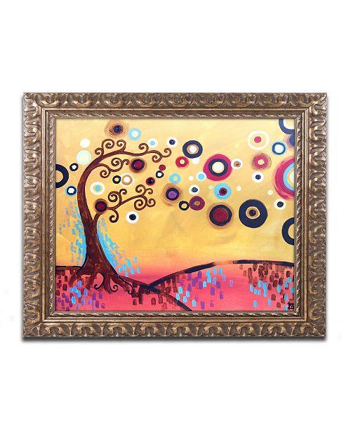 "Trademark Global Natasha Wescoat '087' Ornate Framed Art - 11"" x 14"""