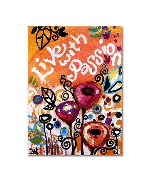 "Trademark Global Natasha Wescoat '103' Canvas Art - 35"" x 47"""
