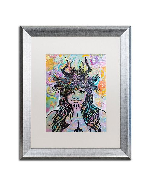 "Trademark Global Dean Russo 'Dissident' Matted Framed Art - 16"" x 20"""