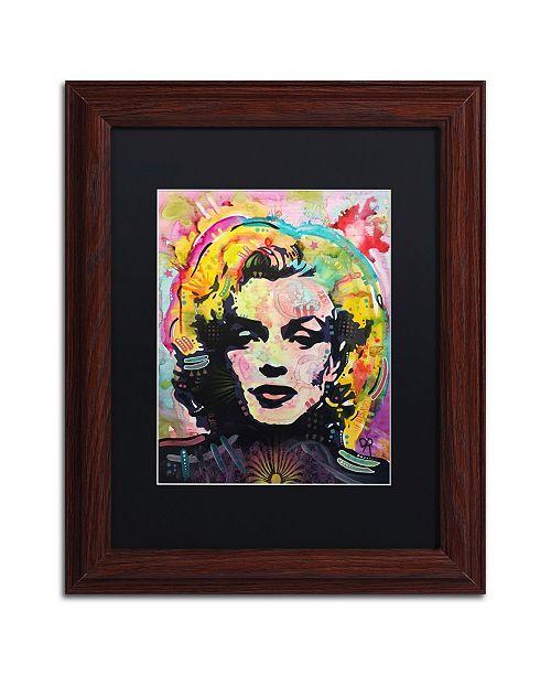 "Trademark Global Dean Russo 'Marilyn 2' Matted Framed Art - 11"" x 14"""