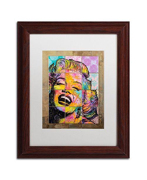 "Trademark Global Dean Russo 'Marilyn' Matted Framed Art - 11"" x 14"""