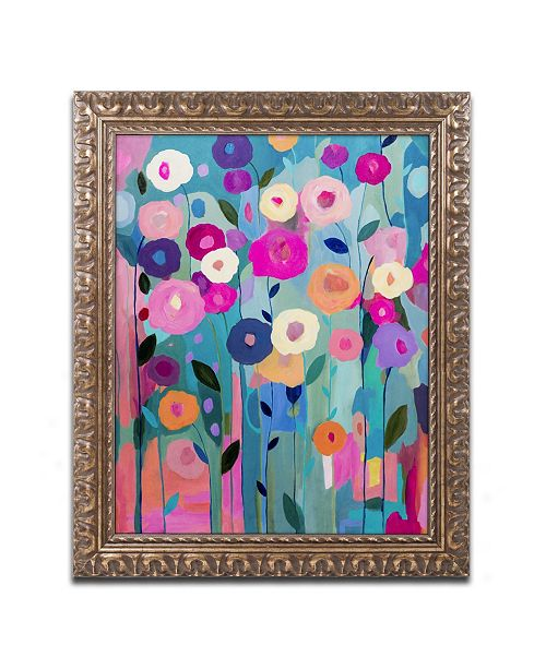 "Trademark Global Carrie Schmitt 'Nurture Your Soul' Ornate Framed Art - 11"" x 14"""