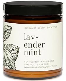 Lavender Mint Candle, 9-oz.