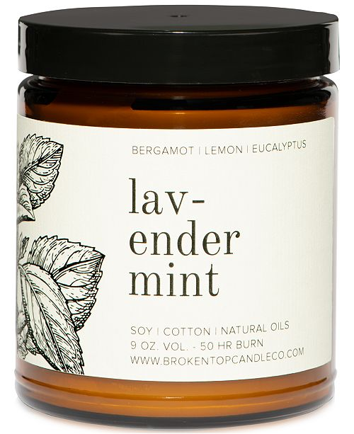 Broken Top Candle Co Lavender Mint Candle, 9-oz.