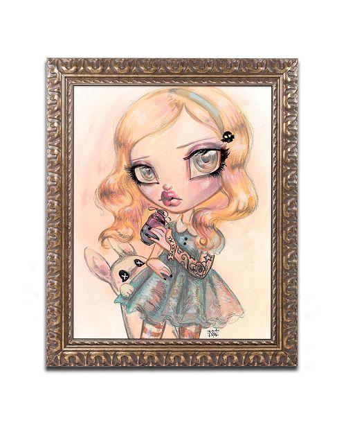 "Trademark Global Natasha Wescoat 'Drink Me' Ornate Framed Art - 16"" x 20"""