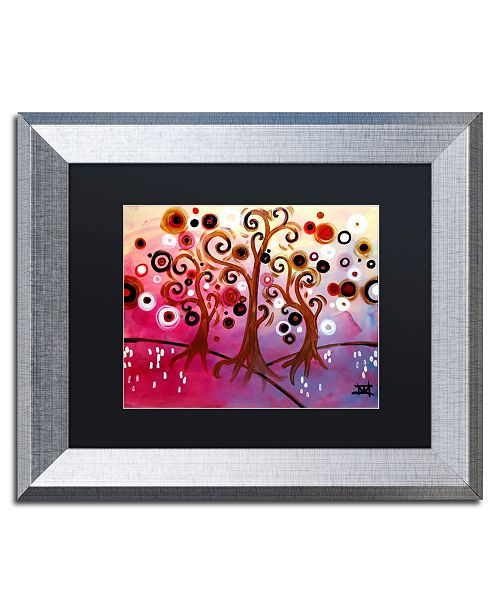 "Trademark Global Natasha Wescoat 'Infinite Treasures' Matted Framed Art - 11"" x 14"""