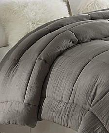 Prewashed All Season Extra Soft Down Alternative Comforter - Full/Queen