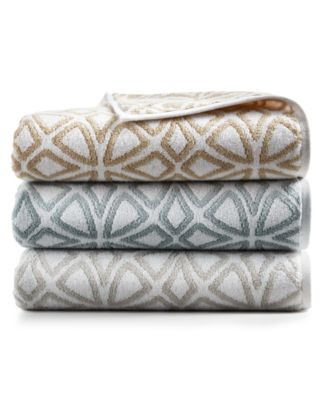 """Connections Cotton 13"""" x 13"""" Wash Towel, Created for Macy's"""