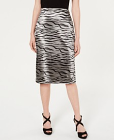 Material Girl Juniors' Midi Pencil Skirt, Created for Macy's