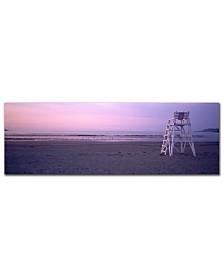 """Preston 'Beach Chair' Canvas Art - 32"""" x 10"""""""