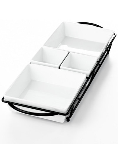 The Cellar Whiteware Serveware 5pc Rectangular Server, Created for Macy's