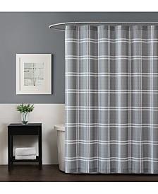 Truly Soft Leon Plaid Shower Curtain