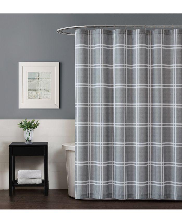 Truly Soft - Leon Plaid Shower Curtain