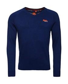 Superdry Men's  Cotton V-Neck Sweater