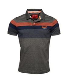 Superdry Men's Miami Feeder Polo Shirt