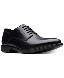 Men's Hampshire Low Plain-Toe Dress Oxfords