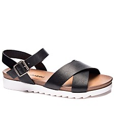Dirty Laundry Charley Chicago Flat Sandals