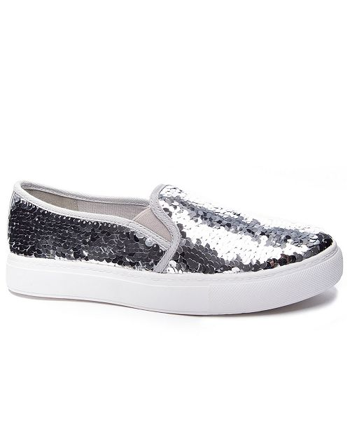 Dirty Laundry Josephine Sequins Slip On Sneakers
