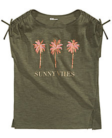 Epic Threads Big Girls Sunny Vibes T-Shirt, Created for Macy's