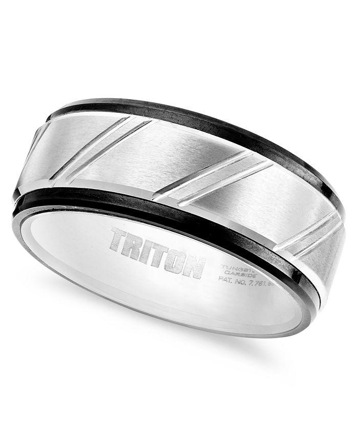 Triton - Men's Ring, Tungsten Carbide Band (9mm)