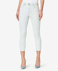Skinnygirl High Rise Skinny Crop Jeans with Baby Hem
