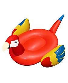"Giant Parrot 93"" Inflatable Ride-On Swimming Pool Toy"