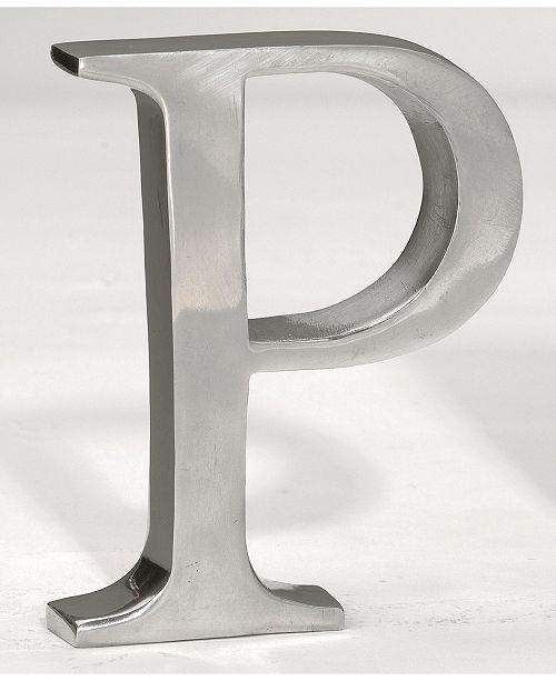"""St. Croix KINDWER 6"""" Aluminum Letter P"""