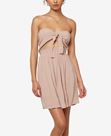O'Neill Juniors' Lawrence Two-Way Strapless Dress