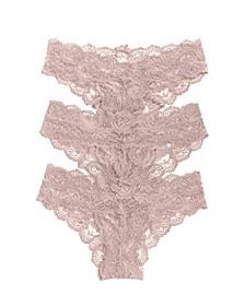 Goddess 3pk Chikini Underwear 1753101MP, Online Only