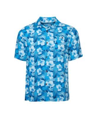 Caribbean Joe Mens Classic Camp Short Sleeve Island Shirt