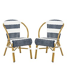 Sarita Striped French Bistro Side Chair, Quick Ship