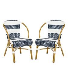 Sarita Striped French Bistro Side Chair, Quick Ship