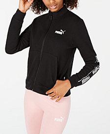 Puma Amplified Cotton Logo Zip Jacket
