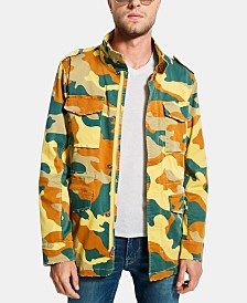 GUESS Men's Carter Camo Jacket