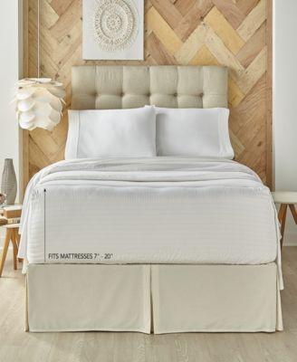 J. Queen New York Royal Fit 500 TC Cotton Full Sheet Set